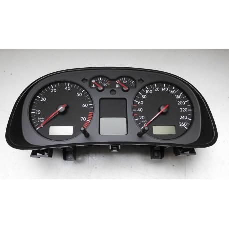 Compteur / combiné porte-instruments pour VW Golf 4 / Bora ref 1J0920826A / 1J0920826AX