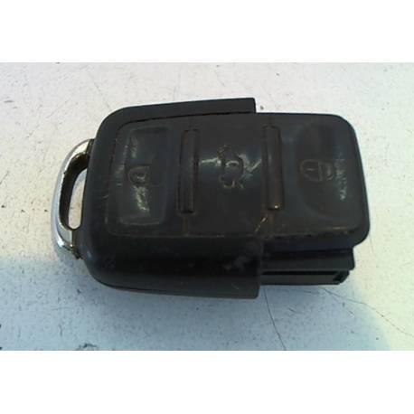 Télécommande / unite emettrice avec affichage a del pour verrouillage centralise noir satine ref 1K0959753G / 1K0959753G 9B9