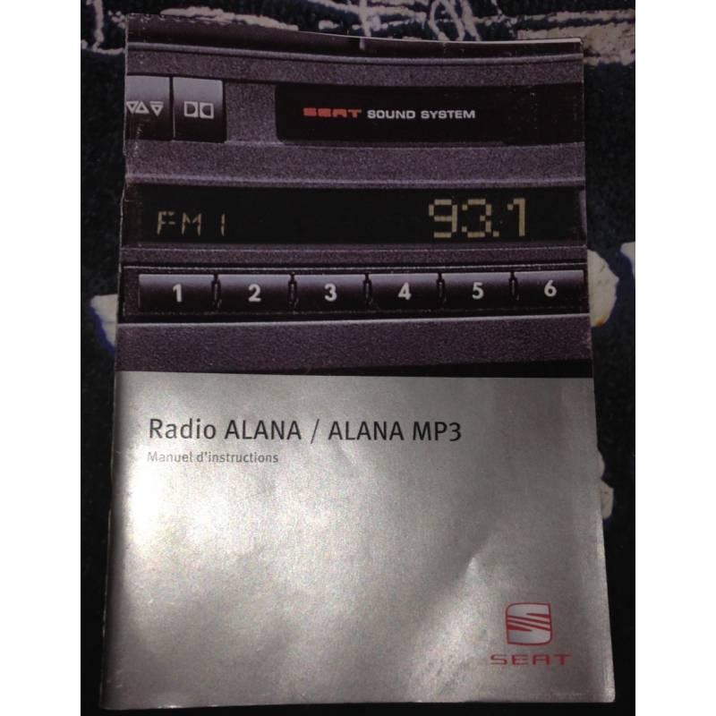Cars For Sale In Ma >> Car radio cd alana mp3 for seat ibiza, cordoba ref ...