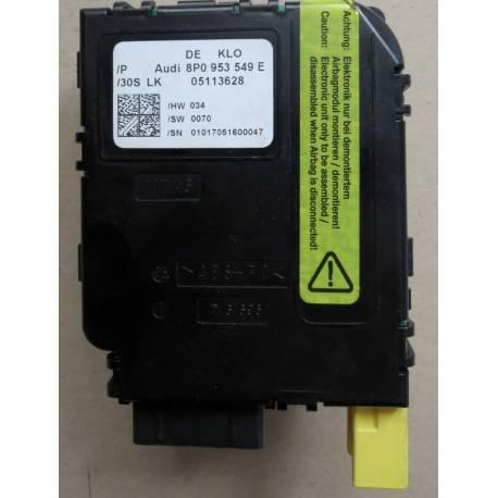Module électronique pour commodo combiné ref 8P0953549E / 8P0953549F