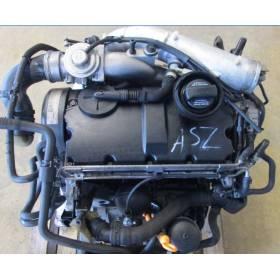 Moteur 1L9 TDI 130 cv type ASZ pour Audi / Seat / VW / Skoda