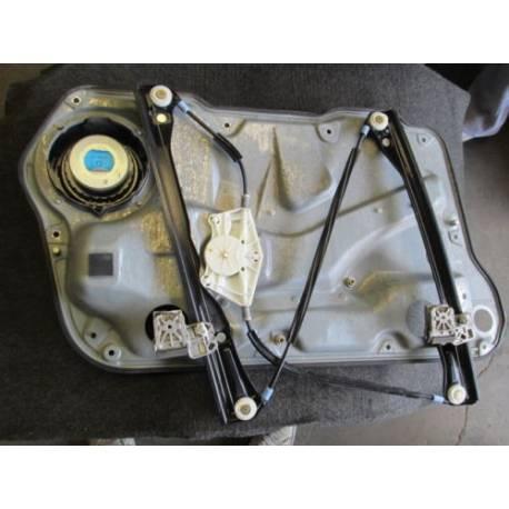 Mécanisme de lève-vitre avant passager pour VW Bora ref 1J4837461F / 1J4837461H