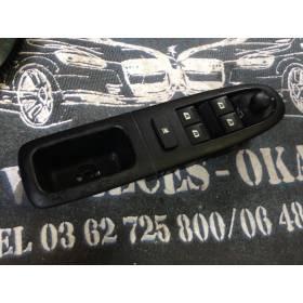 Poignée intérieure avec bouton de lève-vitre pour Peugeot 607 ref 96498500 / 501135100070