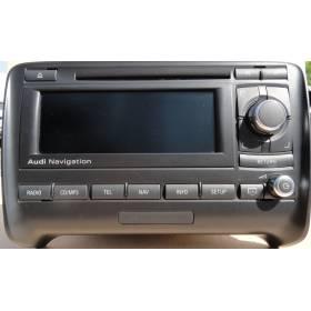 Système de navigation GPS pour AUDI TT type 8J ref 8J0035192K / 8J0035192KX