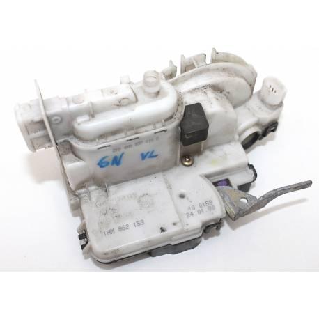 Serrure module de centralisation avant conducteur pour VW Polo ref 6N1837015A / 6N1837015E / 6N1837015D
