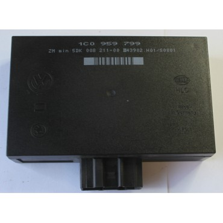 Boitier confort / Commande centralisée pour système confort pour VW Golf 4 / Bora / Skoda Octavia ref 1C0959799