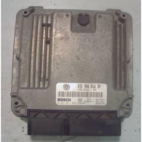 Calculateur moteur pour VW Caddy ref 03G906016DM / Ref Bosch 0281011882