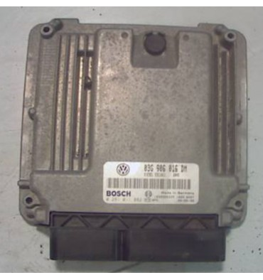 Calculateur moteur pour VW Caddy ref 03G906016DM / Ref Bosch 0281011882