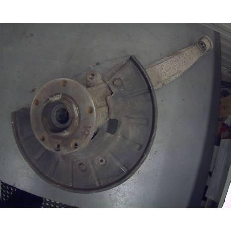 Fusée cache roulement avant passager avec moyeu pour Audi Q7 ref 7L8407258A / 7L8407258C