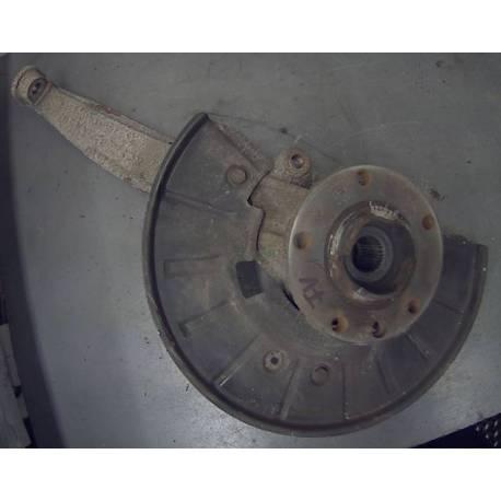 Fusée cache roulement avant conducteur avec moyeu pour Audi Q7 ref 7L8407257A / 7L8407257C