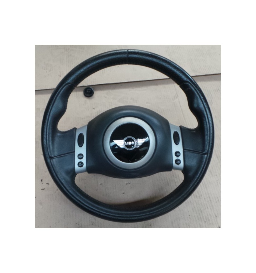 steering wheel with airbag for mini cooper mini one sale auto spare part on pieces. Black Bedroom Furniture Sets. Home Design Ideas