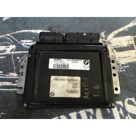Calculateur pour Mini Cooper / Mini One R52 / R53 1L6 essence ref 1214 7527610-01 / S83293 / 7536020