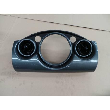 Grille entourage de compteur avec buse ventilation pour Mini Cooper / Mini One R50 / R52 / R53
