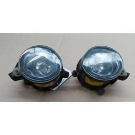 2 feux projecteurs anti brouillard pour Mini Cooper / Mini One R50 / R52 / R53 W10-B16A ref 69250499 / 69250509