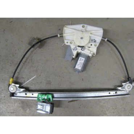 Mécanisme lève-vitre arrière passager avec moteur pour Peugeot 607 ref 9632243180