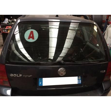 Malle arrière hayon pour VW Golf 4 break coloris gris LC7V ref 1J9827025AE