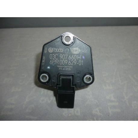 Sonde / Capteur détecteur d'huile pour carter sous moteur ref 03C907660D / 03C907660H