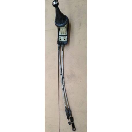 Support de commande avec cables bowden pour Mini Cooper R50 / R52 / R53 ref 25117515463 / 25117542693