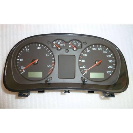 Compteur / combiné porte-instruments pour VW Golf 4 / Bora ref 1J0920801E / 1J0920801EX