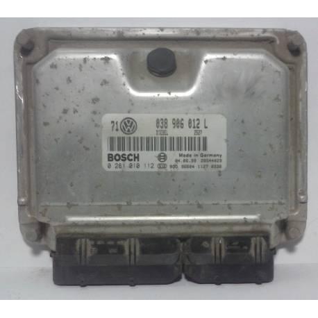 Calculateur moteur pour VW Golf / Bora ref 038906012L / ref Bosch 0281010112