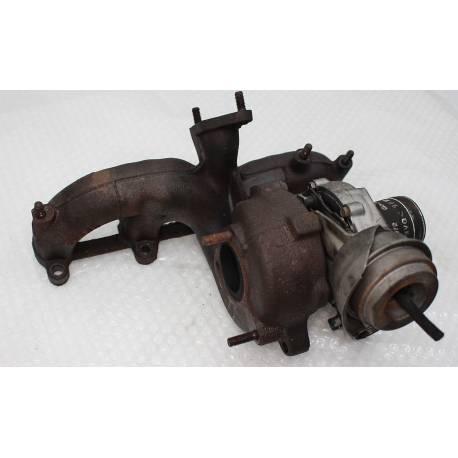Turbo d'origine pour 1L9 TDI ref 038253019 / 038253019A / 038253019AX / 03G253016K / 03G253016KX