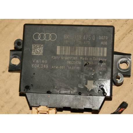 Calculateur d'aide au stationnement pour Audi A4 / A5 / Q5 ref 8K0919475Q / 8K0919475T / Valeo 604.349 / 604349