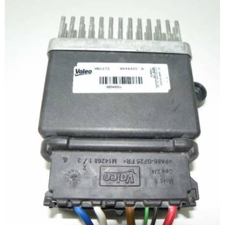 Calculateur pour ventilateur radiateur Audi A4 / A5 / A6 / Q3 / Q5 ref 8K0959501E / 8K0959501D / 8K0959501F / Valeo ref 989462U