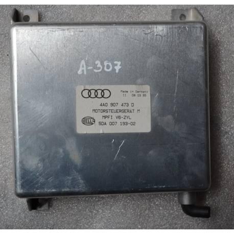 Calculateur moteur pour Audi 2L6 essence ref 4A0907473D / 4A0907473K / 4A0907473T