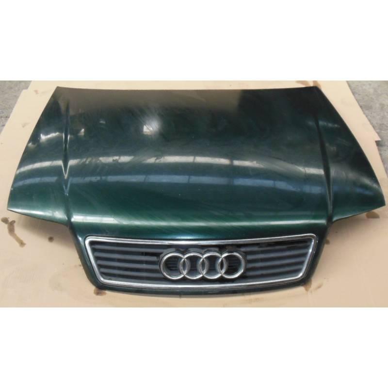 capot moteur pour audi a6 4b coloris vert lz6h ref 4b1823029b. Black Bedroom Furniture Sets. Home Design Ideas