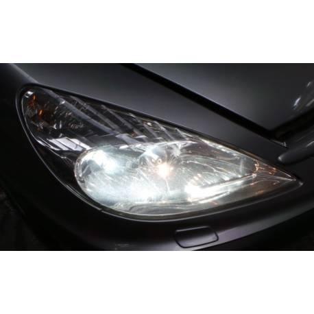Phare projecteur avant passager xenon pour Peugeot 607 ref 9641958980 / 89005375