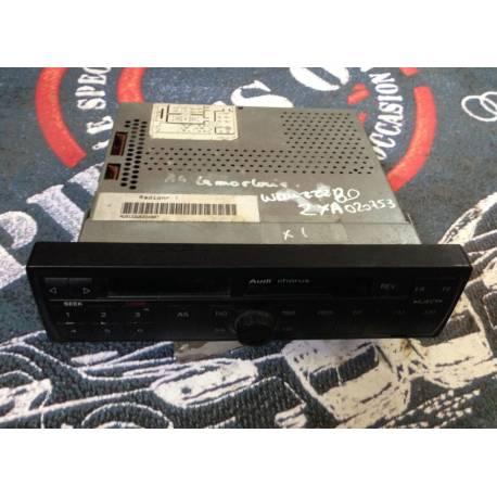 Autoradio K7 Chorus pour Audi A3 / A4 / A6 ref 4B0035152B
