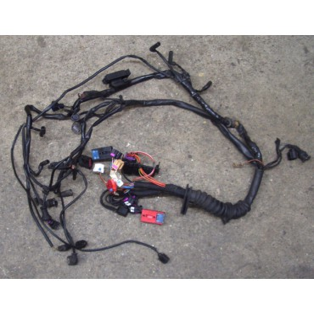 Faisceau / Câblage de compartiment moteur pour Audi A6 2L5 V6 TDI AKN 150 cv boite mécanique ref 4B1971072BJ