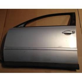 Porte avant conducteur pour VW Passat 3B coloris gris LB7Z ref 3B4831051