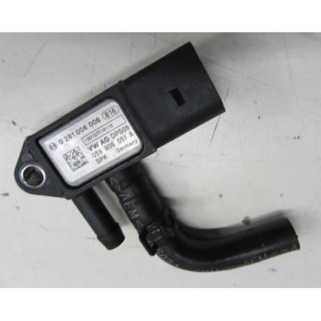 Capteur de pression de différentiel pour Audi / Seat / VW / Skoda ref 059906051A / 0281006006 / 0 281 006 006