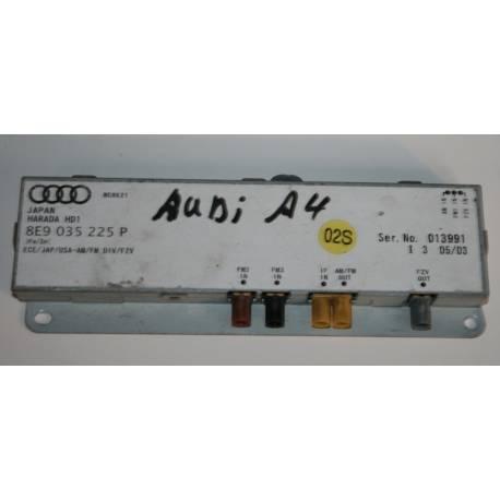 Amplifier of aerial for Audi A4 / Seat Exeo ref 8E9035225P / 8E9035225B / 8E9035225C / 8E9035225Q