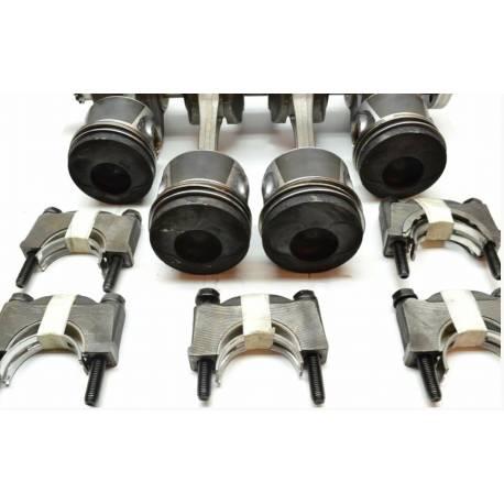 Kit réparation bas moteur comprenant Vilebrequin / Bielle / Piston / Coussinet VW / Audi / Seat / Skoda 1L9 TDI ref 038105021Q
