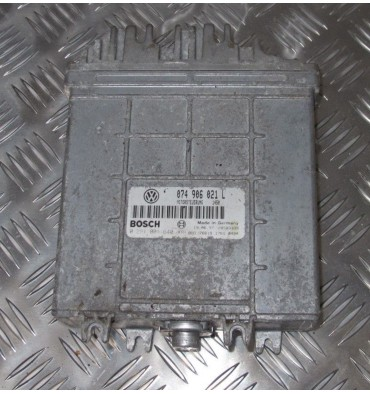Calculateur moteur pour VW Transporter T4 2L5 TDI ACV ref ECU 074906021L / 0281001640