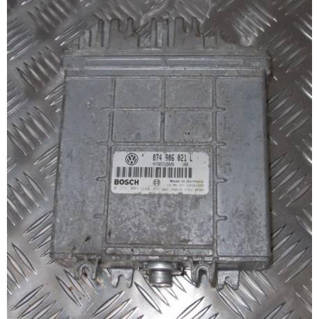Calculateur moteur pour VW Transporter T4 2L5 TDI ACV ref ECU 074906021L / 0281001640