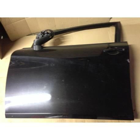 Porte avant gauche conducteur modèle 5 portes pour Seat Leon 2 coloris noir LC9Z ref 1P0831055A