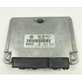 Calculateur injection pour Audi A4 / VW Passat 1L9 TDI ref 038906018P / Ref Bosch 0281001720 0 281 001 720