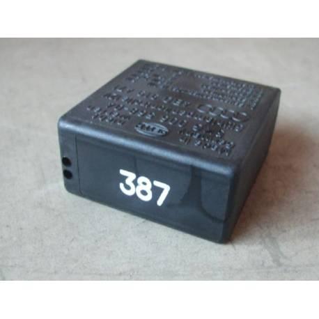 Rele / Unidad de control intervalo de limpiado-lavado N° 387 pour VW / Audi / Skoda ref 4B0919471 / 4B0919471A