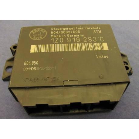 Calculateur d'aide au stationnement pour Skoda Octavia ref 1Z0919283C
