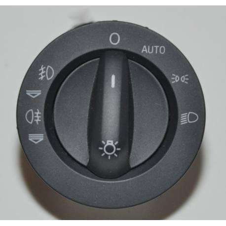 Commodo d'allumage des feux avec anti-brouillard pour Audi A6 4F / Q7 ref 4F1941531D / 4F1941531E