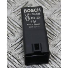 Calculateur pour bougie de préchauffage ref 038907281D / Ref Bosch 0281003038 / 0 281 003 038