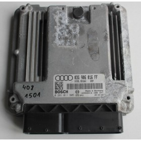 Calculateur moteur pour Audi A3 2L TDI ref 03G906016FF / 03G997016LX / Ref Bosch 0281011905