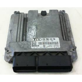 Calculateur moteur Audi A3 2L TDI ref 03G906016BA / 03G997016QX / Ref Bosch 0281011847