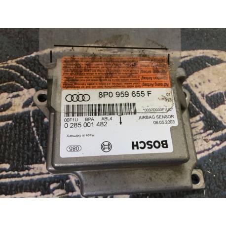 Calculateur airbag pour Audi A3 8P ref 8P0959655F / 8P0959655D / 0285001482