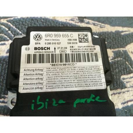 Calculateur d'airbag pour VW Polo / Seat Ibiza ref 6R0959655 / 6R0959655C / 6R0959655K  B11