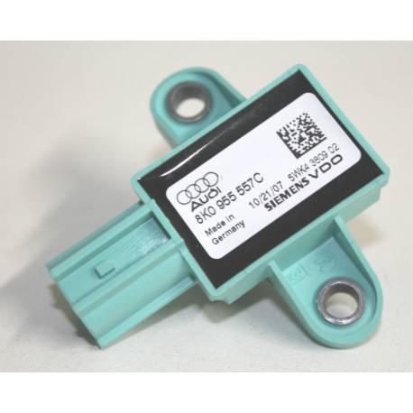 Capteur de pression d'airbag / détecteur de choc pour Audi A4 / A5 / Q5 ref 8K0955557C