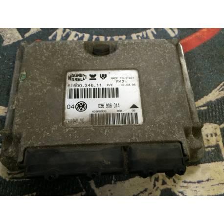 Calculateur moteur pour VW Golf 4 1L4 MPI moteur AHW ref 036906014 / Ref Magneti Marelli 61600.346.11
